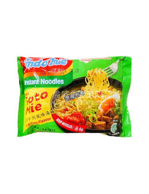 印尼 INDOMIE 泡麵 - 青檸牛肉
